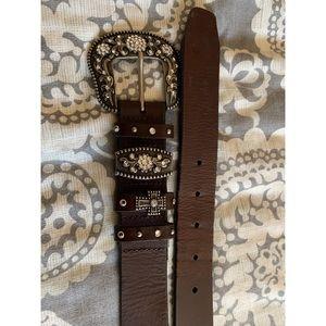Genuin leather belt
